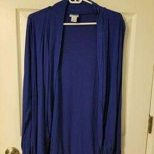 SALE $25Motherhood Maternity Blue Cardigan